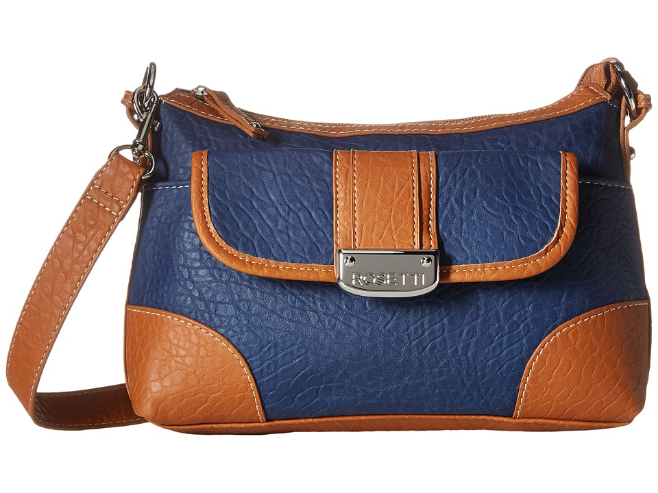 Rosetti - Park Place Convertible Hobo (Pacific Navy) Cross Body Handbags
