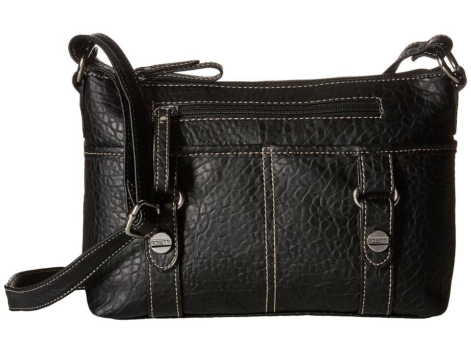 Rosetti - Mindy Mini Crossbody (Black) Cross Body Handbags