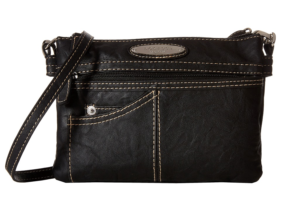 Rosetti - Anita Cash Carry Mini Crossbody (Black) Cross Body Handbags