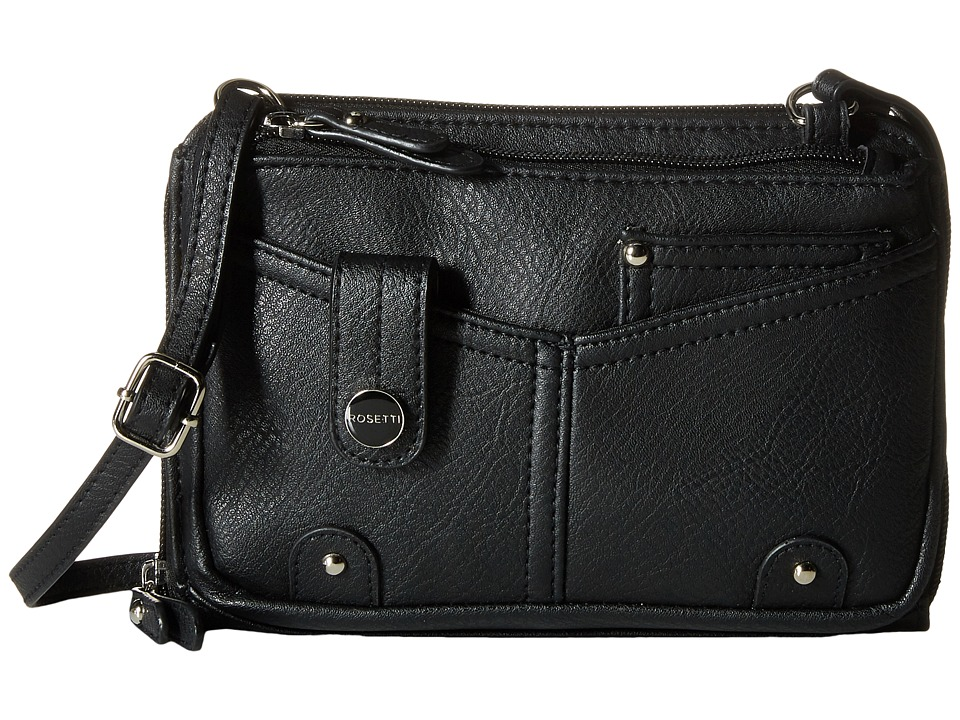 Rosetti - Mandy Mini Crossbody (Black) Cross Body Handbags