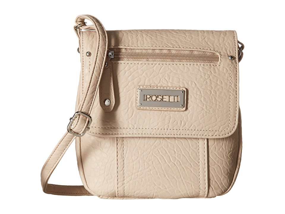 Rosetti - Blossom Mini Crossbody Solid (Cremini) Cross Body Handbags