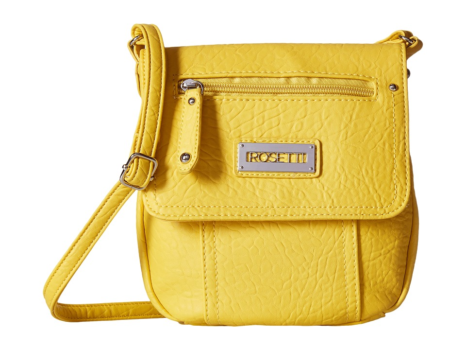 Rosetti - Blossom Mini Crossbody Solid (Daffodil) Cross Body Handbags