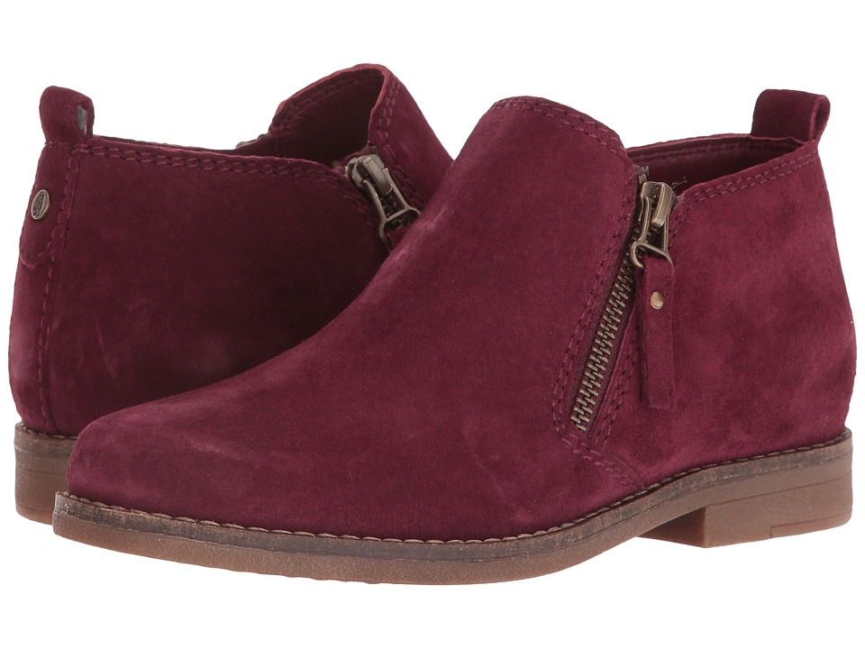 Hush Puppies Mazin Cayto (Wine Suede) Women
