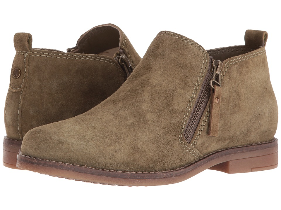Hush Puppies Mazin Cayto (Dark Olive Suede) Women