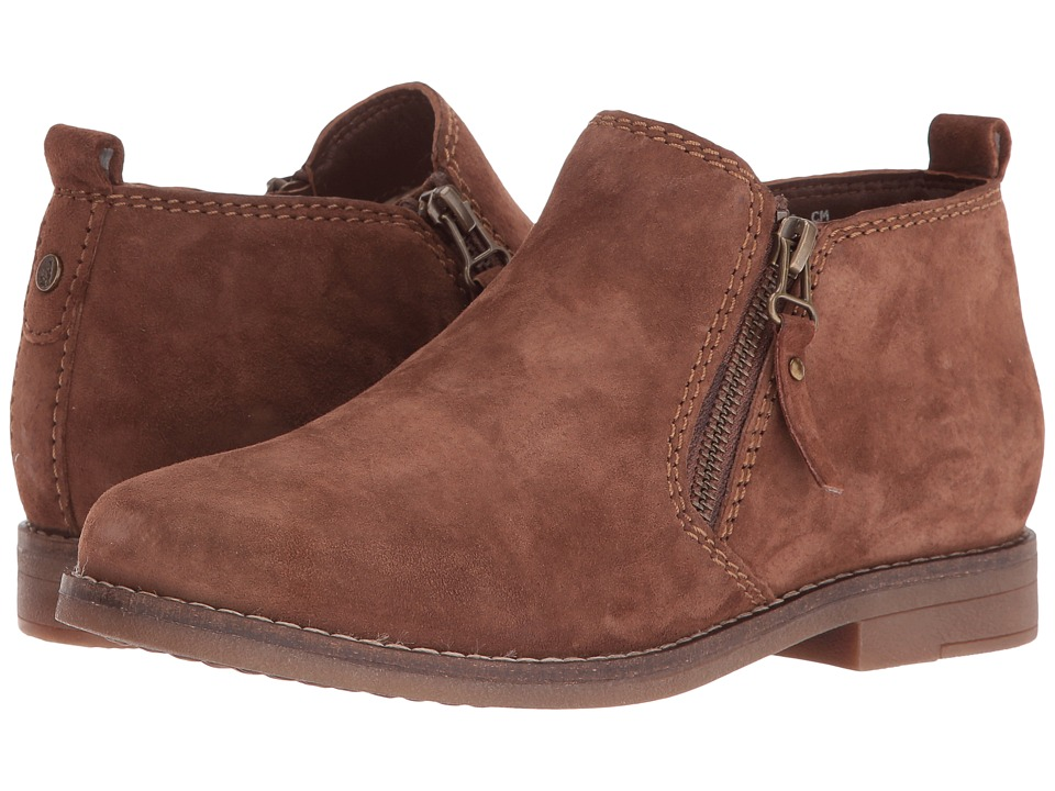 Hush Puppies Mazin Cayto (Brown Suede) Women