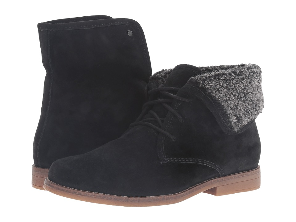 Hush Puppies Marthe Cayto (Black Suede) Women
