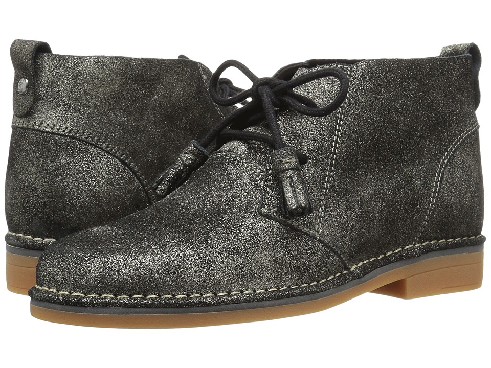Hush Puppies Cyra Catelyn (Gunmetal Glitter Leather) Women