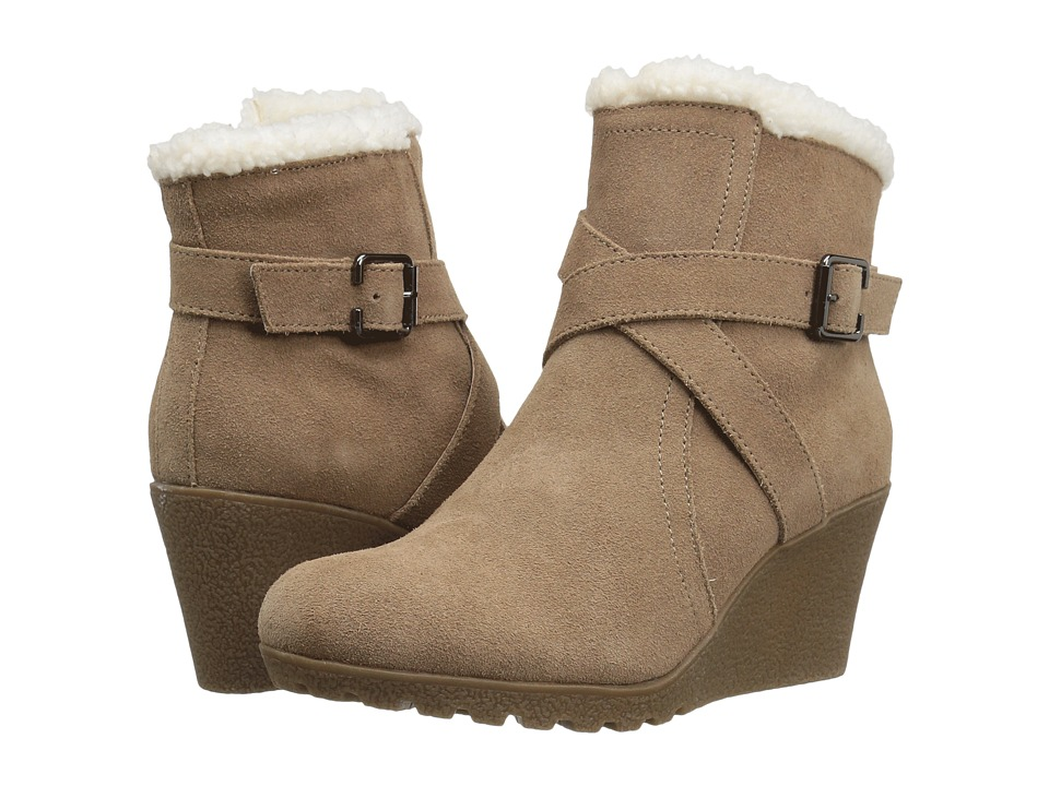 Hush Puppies - Amber Miles IIV (Camel Waterproof Suede) Women's Pull-on Boots