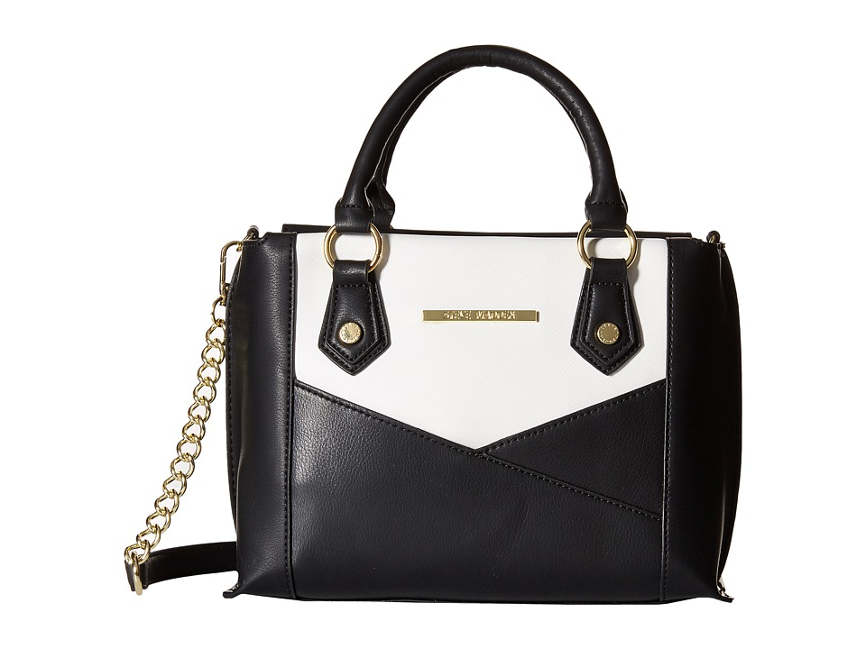Steve Madden - Bpatricia Mini Satchel (Black/White) Satchel Handbags