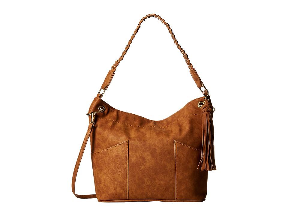 Steve Madden - Bbolt Bucket (Taupe) Handbags