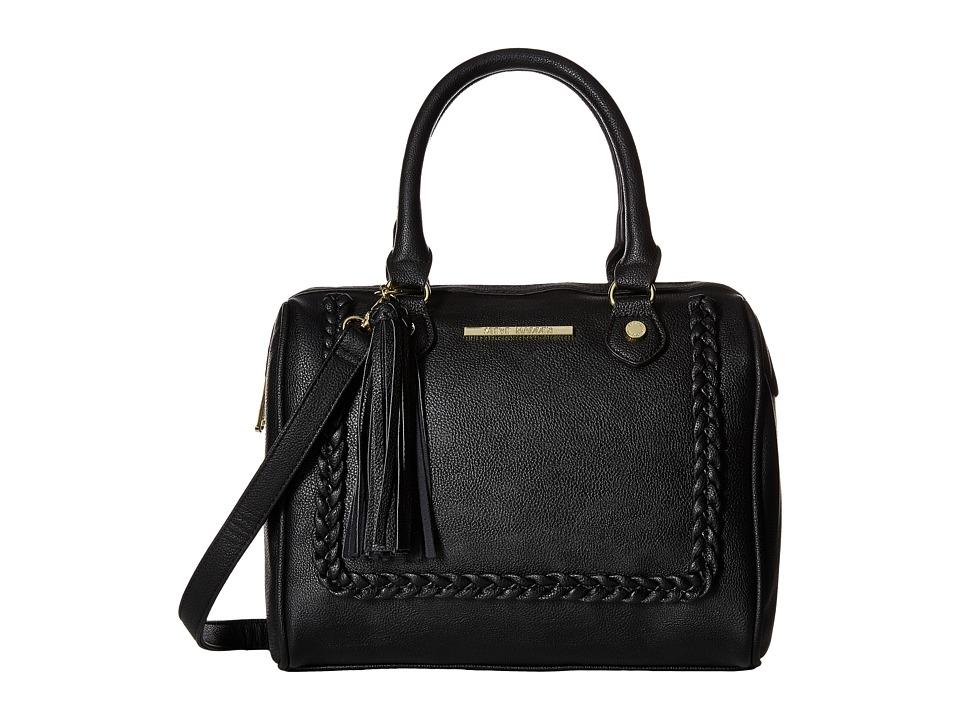 Steve Madden - Mini Jessa Braid (Black) Satchel Handbags