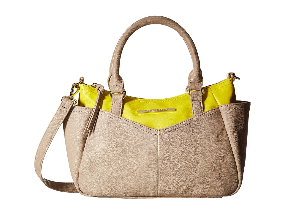Steve Madden - Bemma Mini Satchel (Fog/Yellow) Satchel Handbags