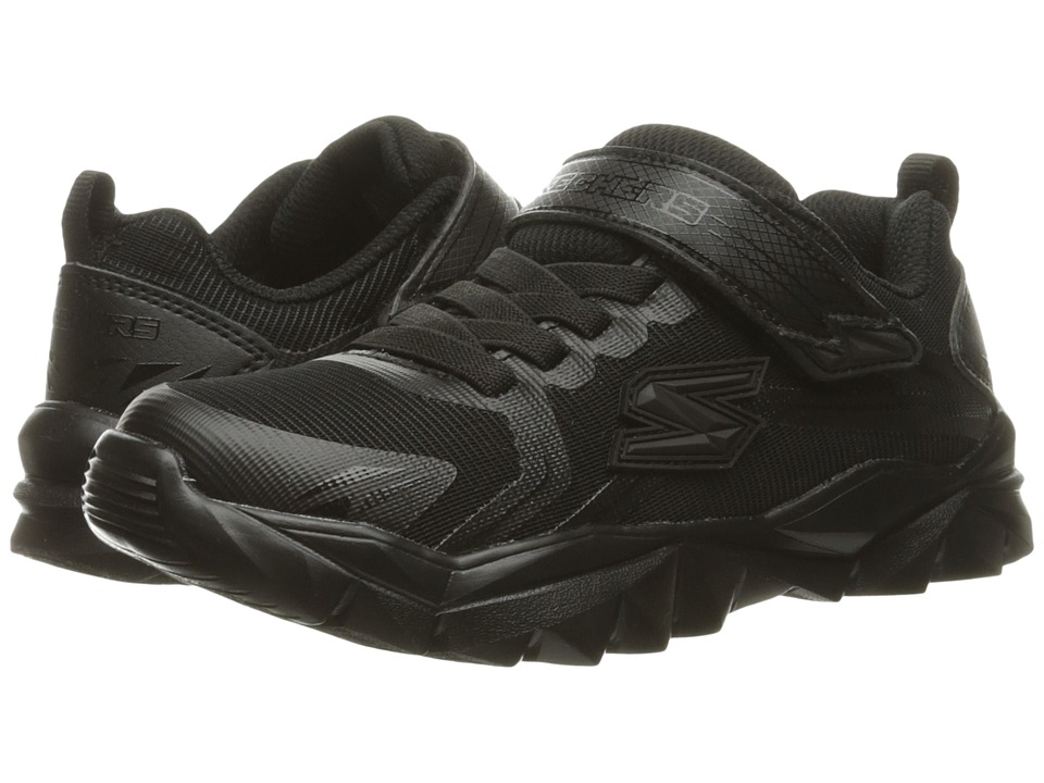 SKECHERS KIDS - Electronz Blazar (Little Kid/Big Kid) (Black) Boy's Shoes