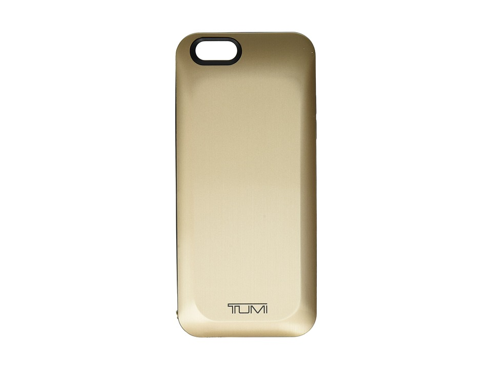 Tumi - 3,000 mAh Battery Case for iPhone 6 (Gold) Wallet