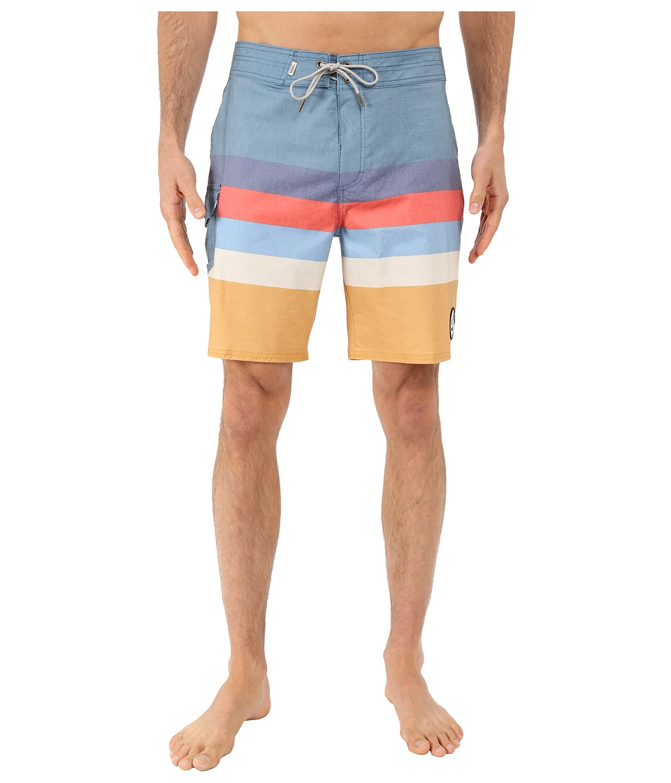Vans - Marview Boardshorts (Blue Ashes/Amber Gold) Men's Swimwear