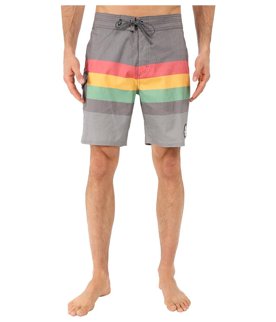 Vans Marview Boardshorts (Charcoal/Frost Grey) Men