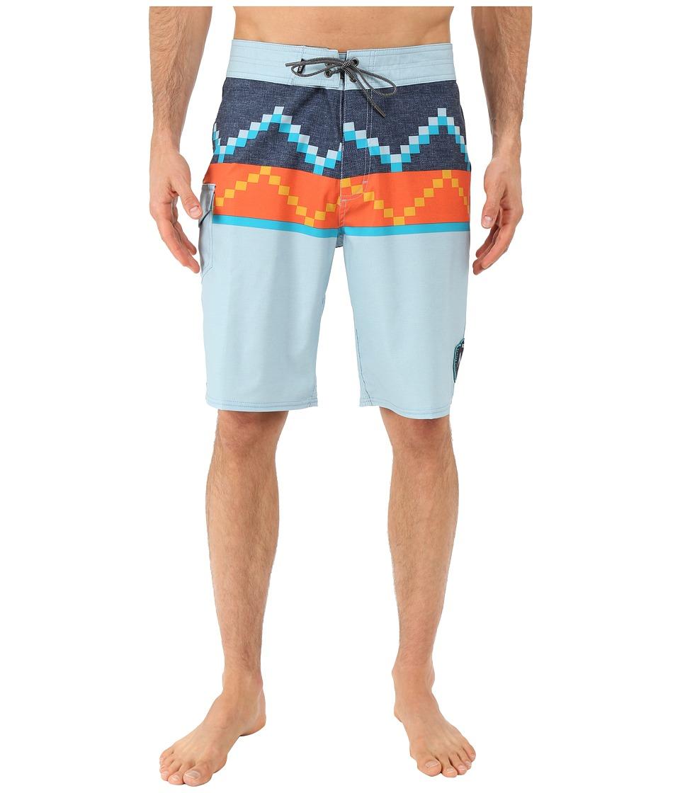 Vans - NF Rising Swell Boardshorts (Sterling Blue) Men's Swimwear