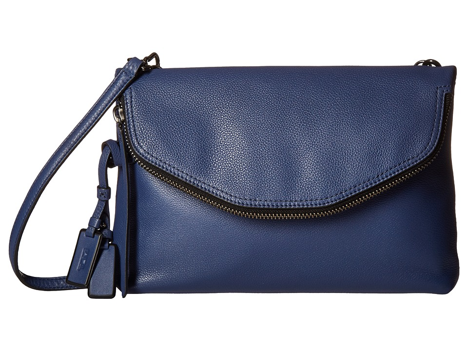 Tumi - Noho Chrystie East/West Crossbody (Steel Blue) Cross Body Handbags