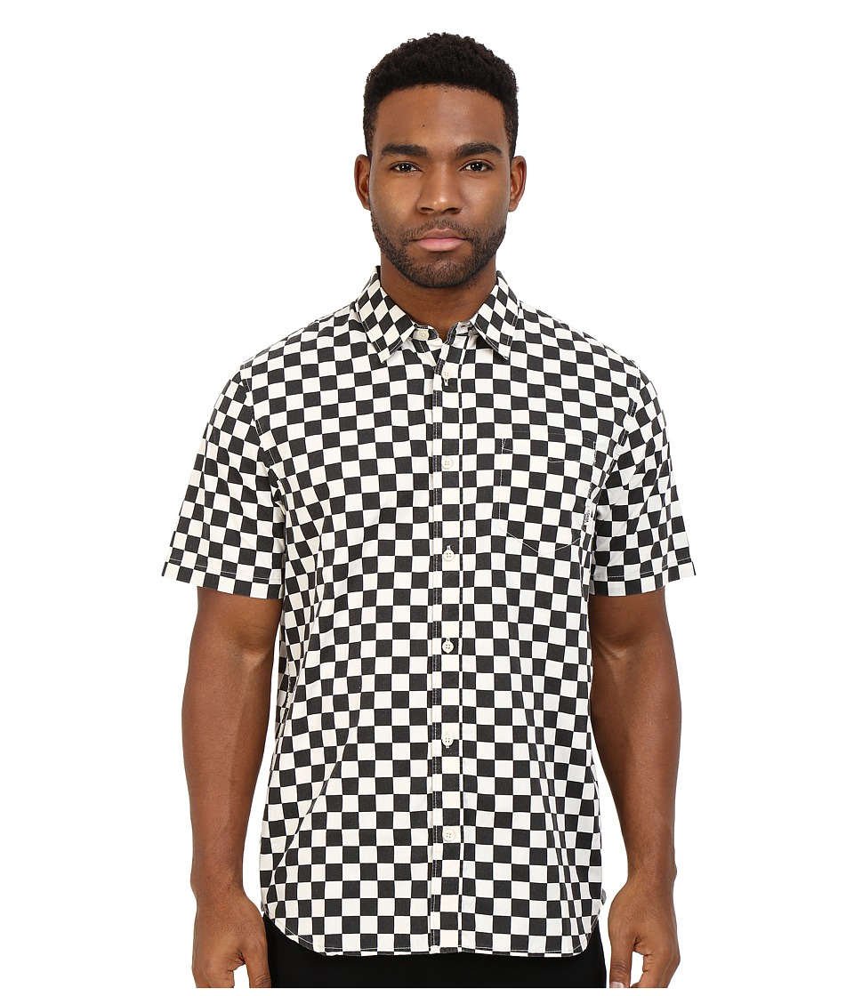 Vans - Cypress Checker (Black/Whitecaps) Men's Clothing