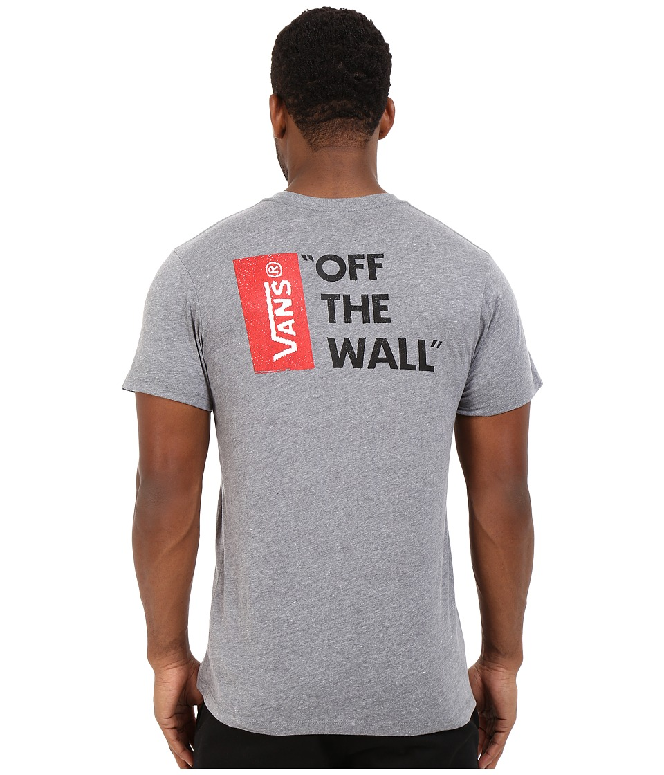 Vans - Vans Off The Wall III (Heather Grey) Men's T Shirt