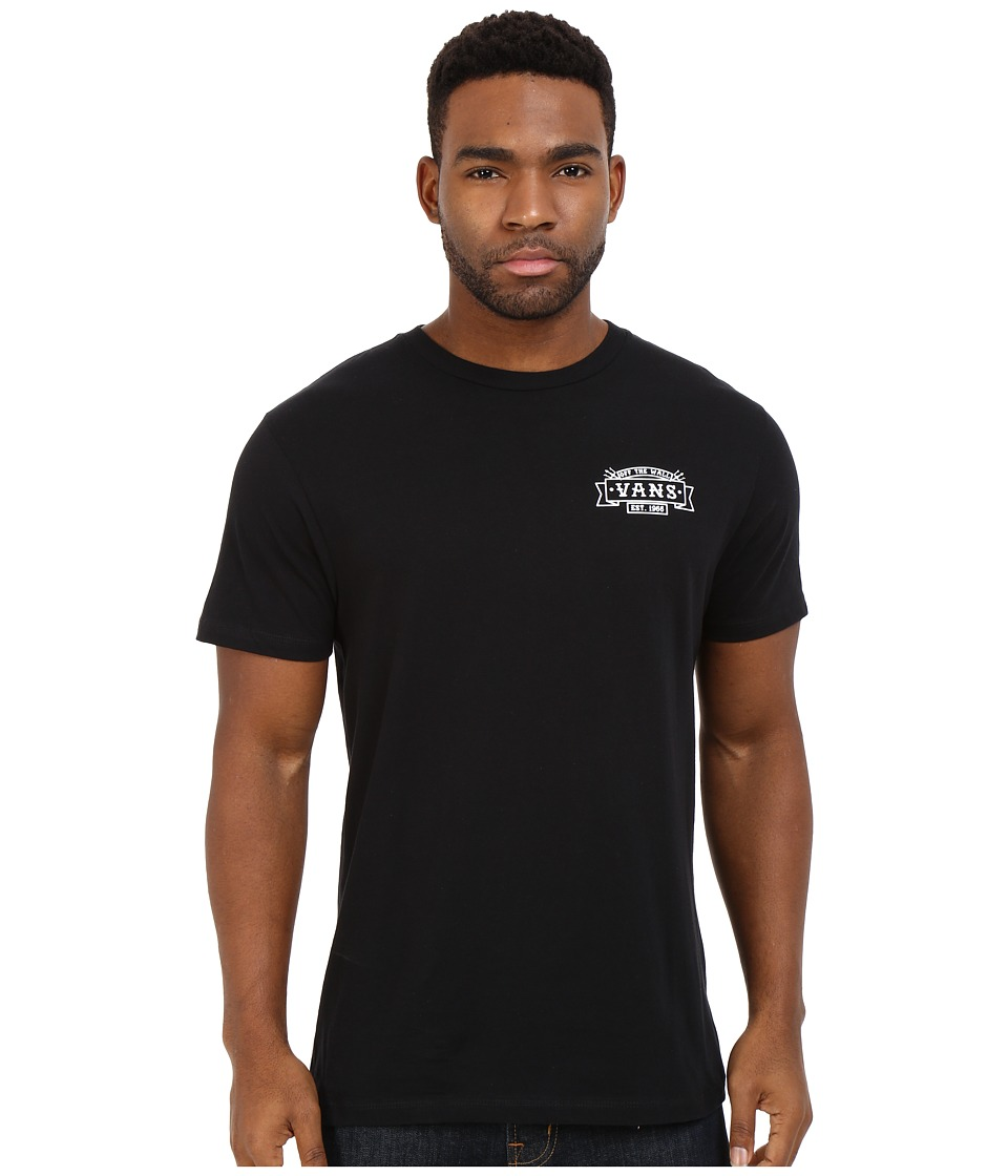 Vans - Tritons Up (Black) Men's T Shirt