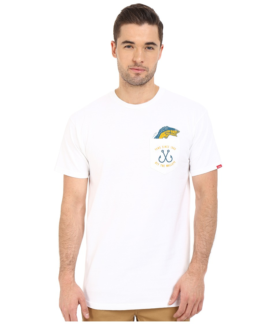 Vans - Off The Walleye (White) Men's T Shirt