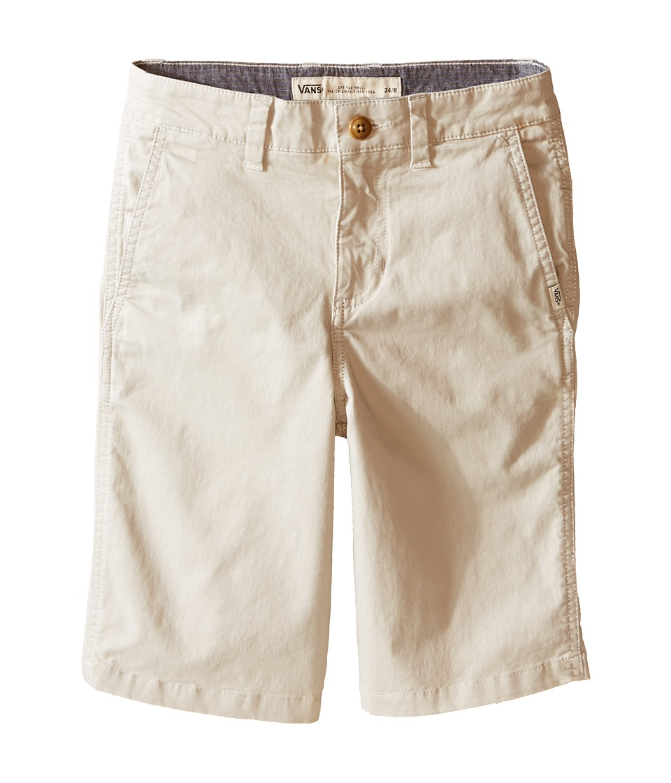 Vans Kids - Bedford (Little Kids/Big Kids) (Sand) Boy's Shorts