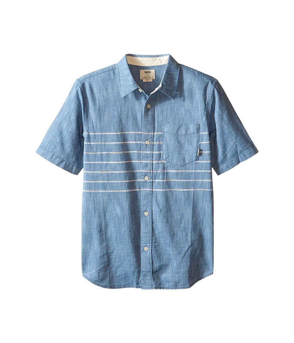 Vans Kids - Bramble (Big Kids) (Blue Ashes) Boy's Clothing