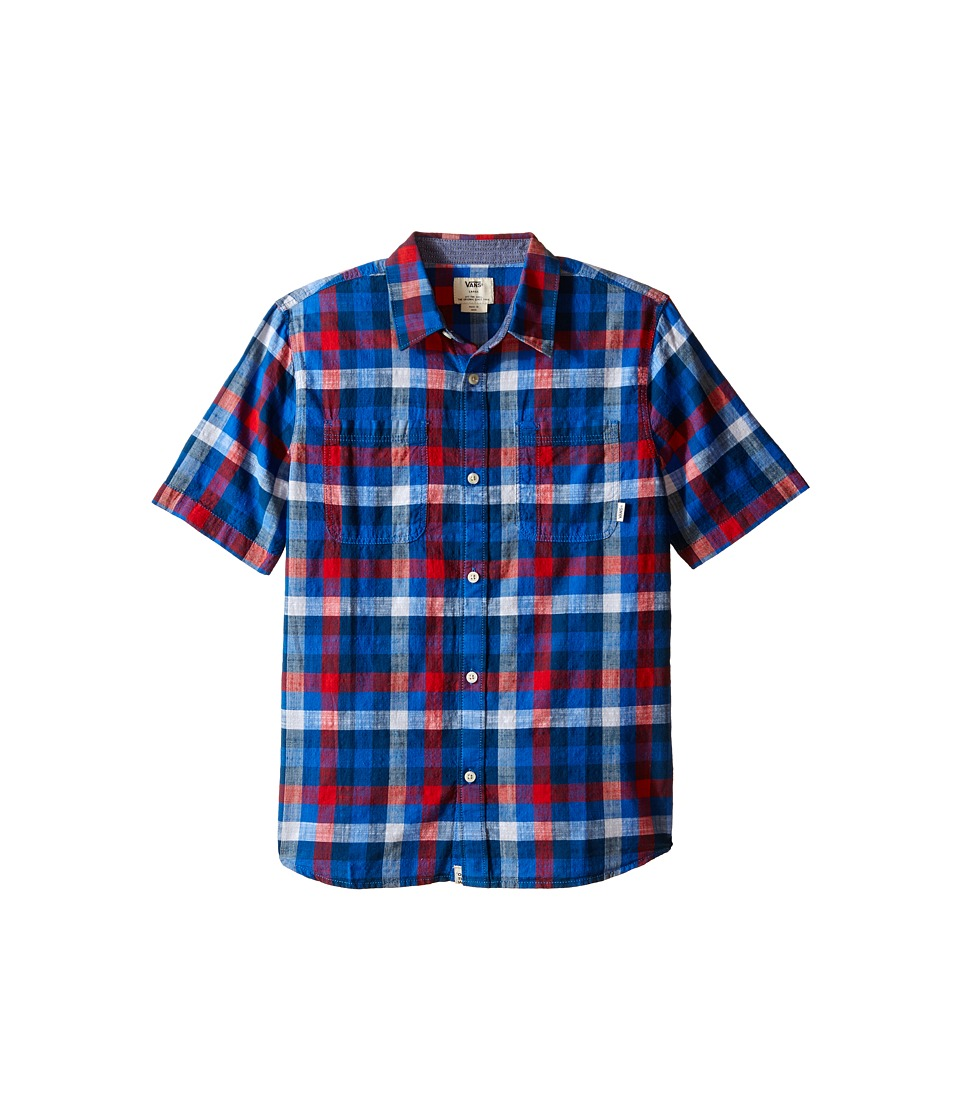 Vans Kids - Westwyck (Big Kids) (Victoria Blue/Racing Red) Boy's Clothing