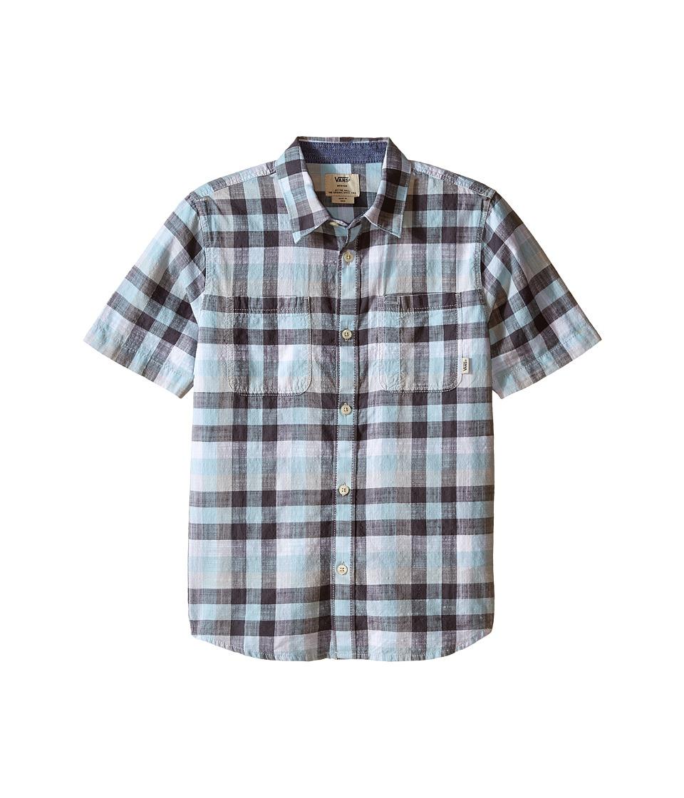 Vans Kids - Westwyck (Big Kids) (Crystal Blue/White) Boy's Clothing