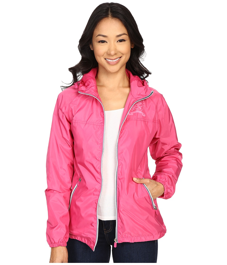 U.S. POLO ASSN. - Hooded Windbreaker Jacket (Caberet) Women's Coat