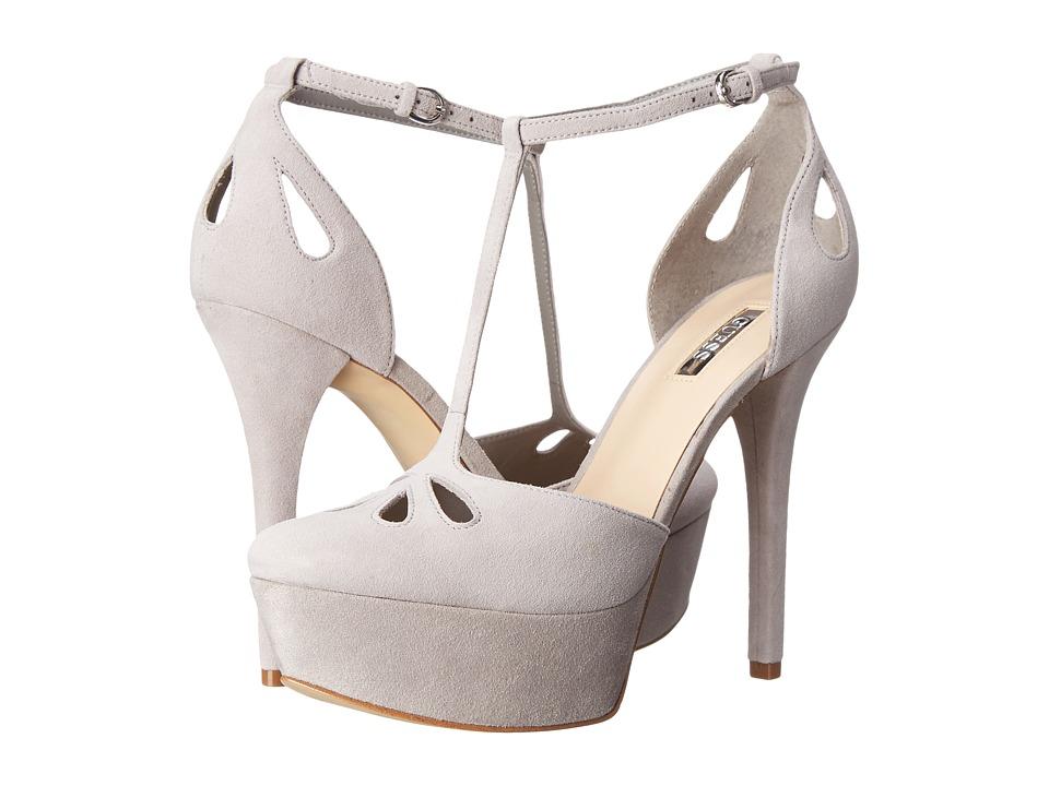 GUESS - Espie (Gray Suede) High Heels