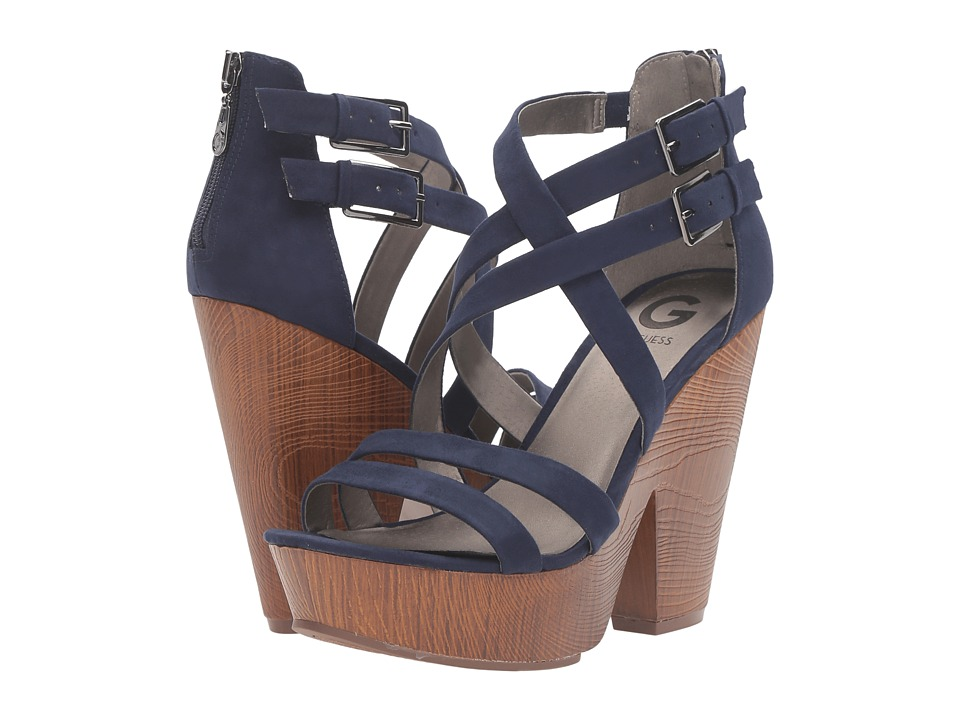 G by GUESS - Sissy (Blue) Women's Shoes
