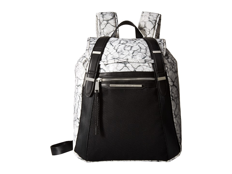 French Connection - Indy Backpack (Marble Print) Backpack Bags