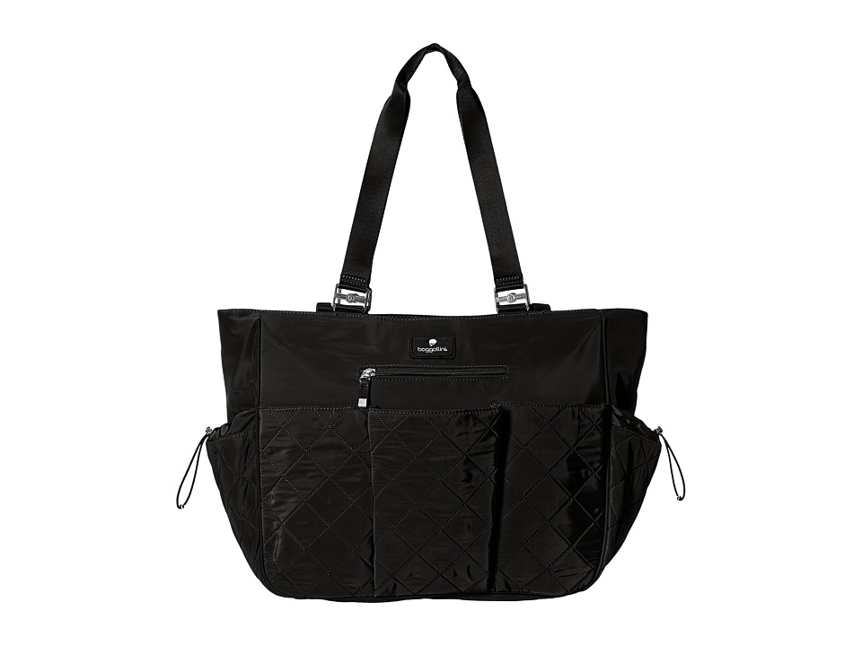 Baggallini - On The Go Diaper Bag (Black) Tote Handbags