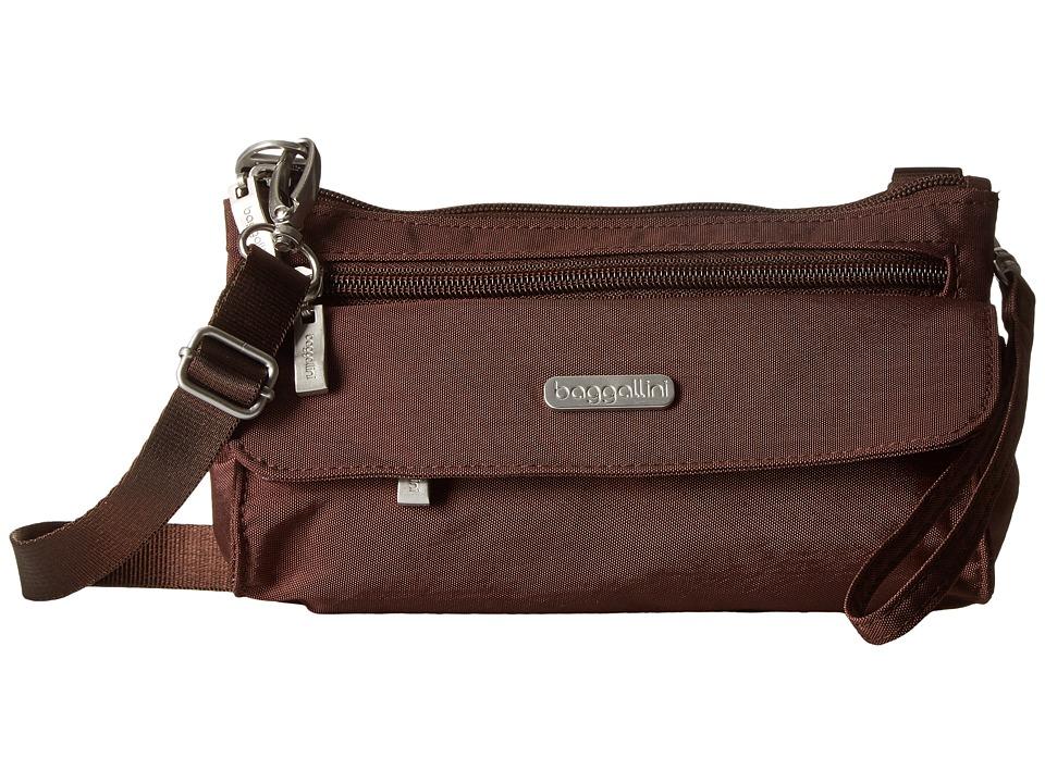 Baggallini - Plaza Mini (Java) Cross Body Handbags