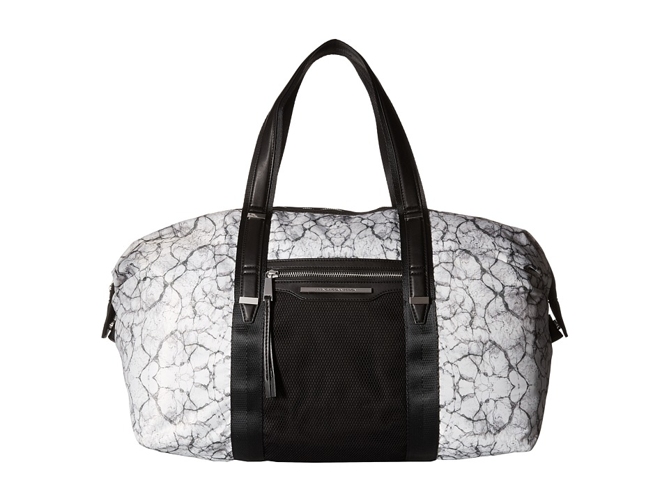French Connection - Indy Duffel (Marble Print) Duffel Bags