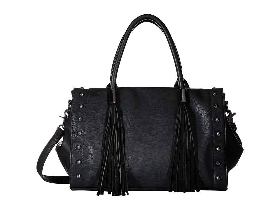 French Connection - Hayden Satchel (Black) Satchel Handbags