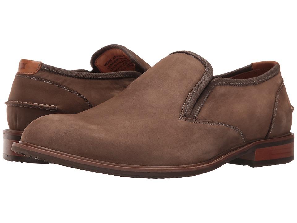 Florsheim - Frisco Plain Toe Slip-On (Taupe) Men's Plain Toe Shoes
