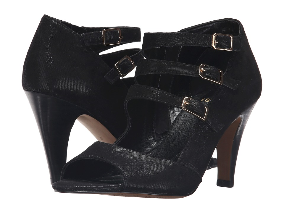 Isola - Dara (Black Mini Dot Kid Suede) High Heels
