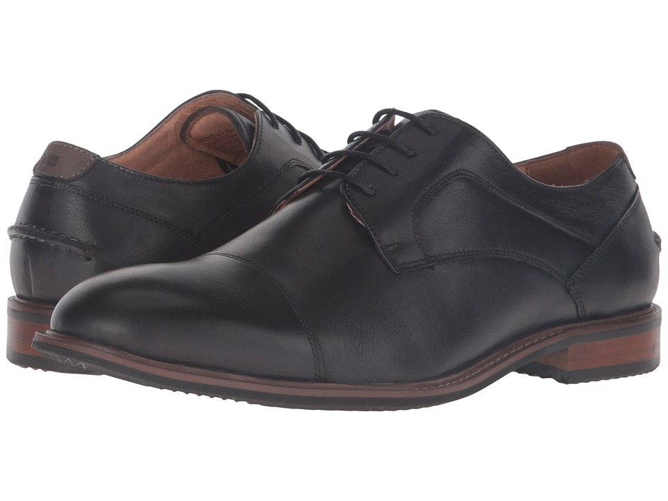 Florsheim - Frisco Cap Toe Oxford (Black) Men's Lace Up Cap Toe Shoes