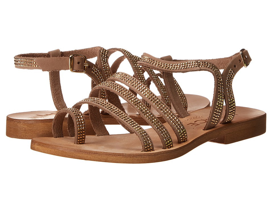 L*Space - Sicily Sandals (Gold) Women's Sandals