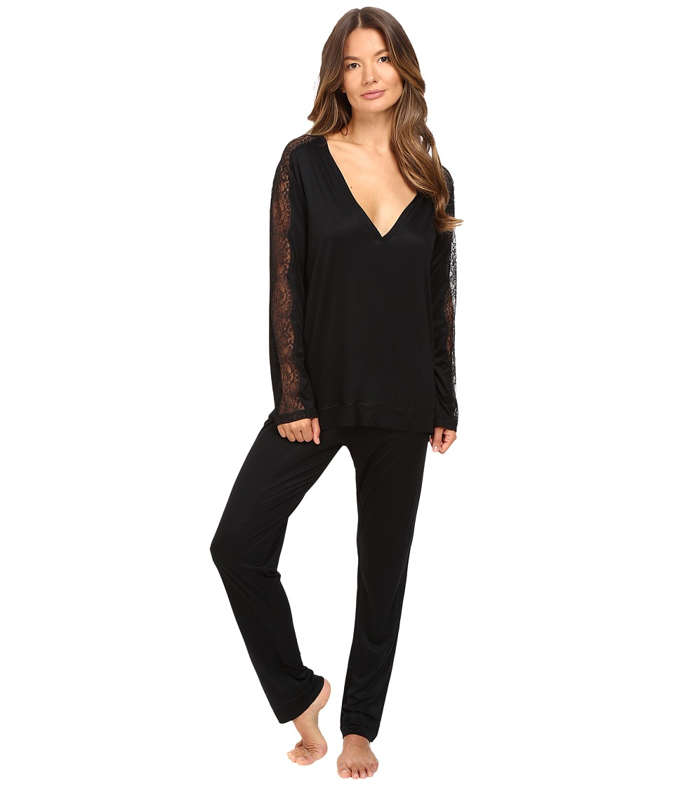 La Perla - Charisma Pajama (Black) Women's Pajama Sets
