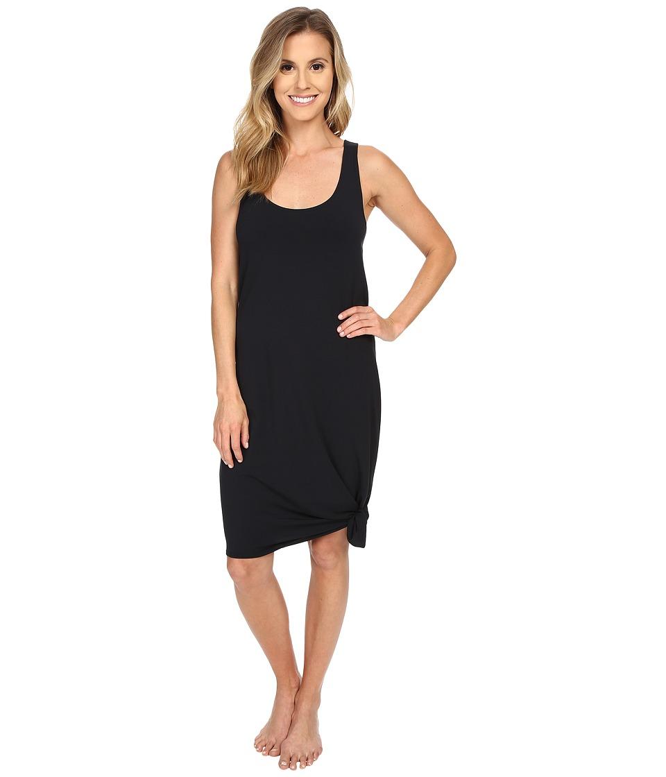 Manduka - Racerback Dress (Black) Women's Dress