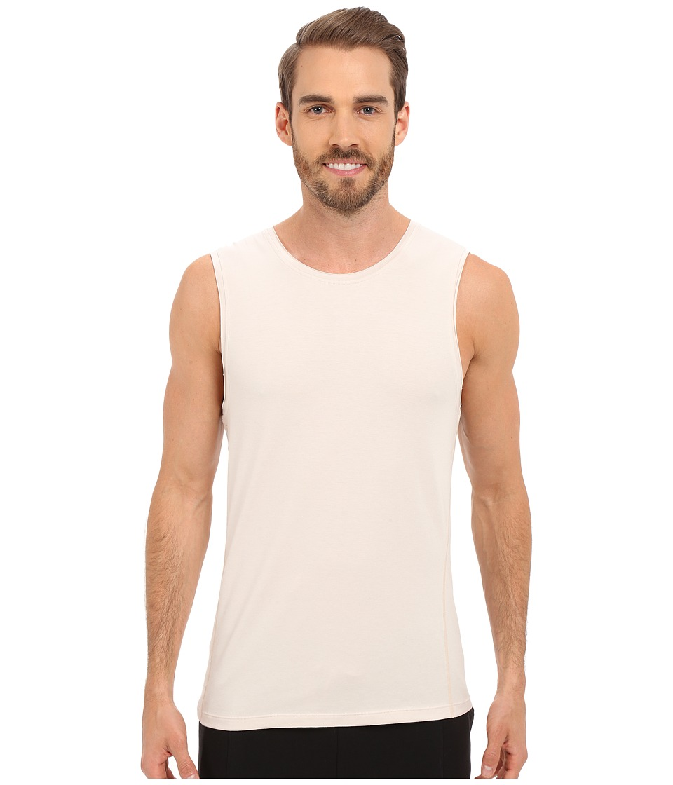 Manduka - Transcend Tank Top (Bisque) Men's Sleeveless