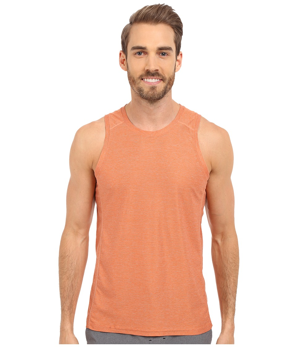 Manduka - Minimalist Tank Top (Ochre) Men's Sleeveless