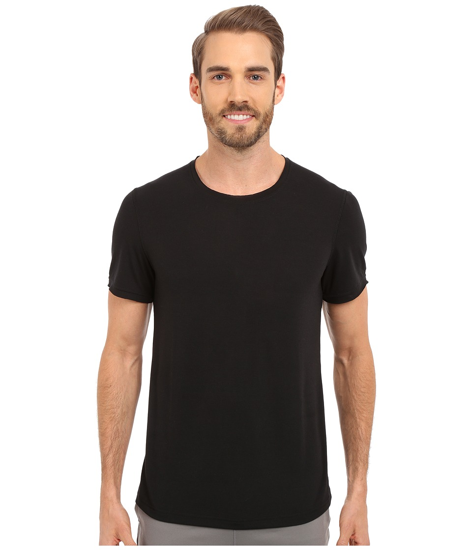Manduka - Transcend Tee (Black) Men's T Shirt