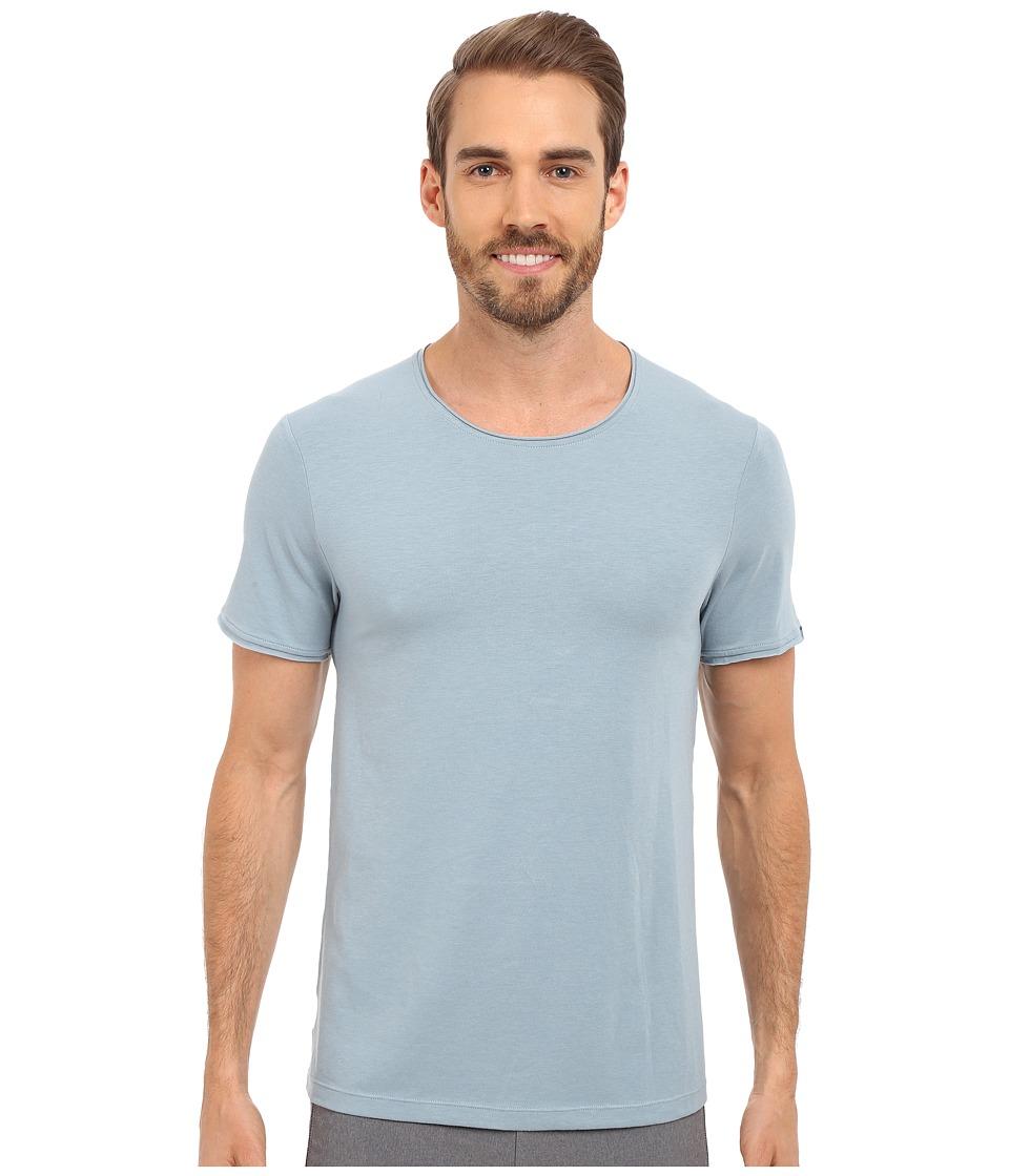 Manduka - Transcend Tee (Steel Blue) Men's T Shirt