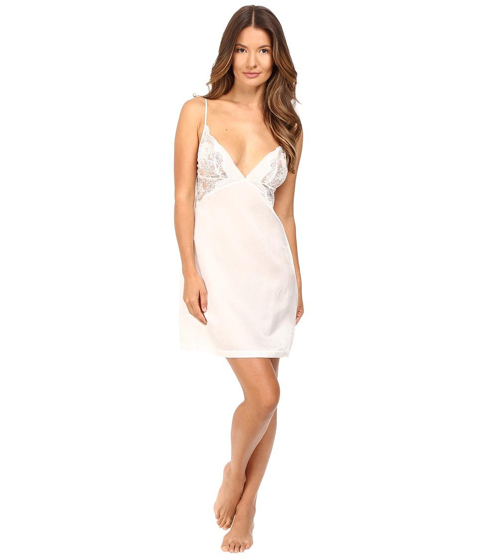 La Perla - Jazz Time Short Gown (White) Women's Pajama