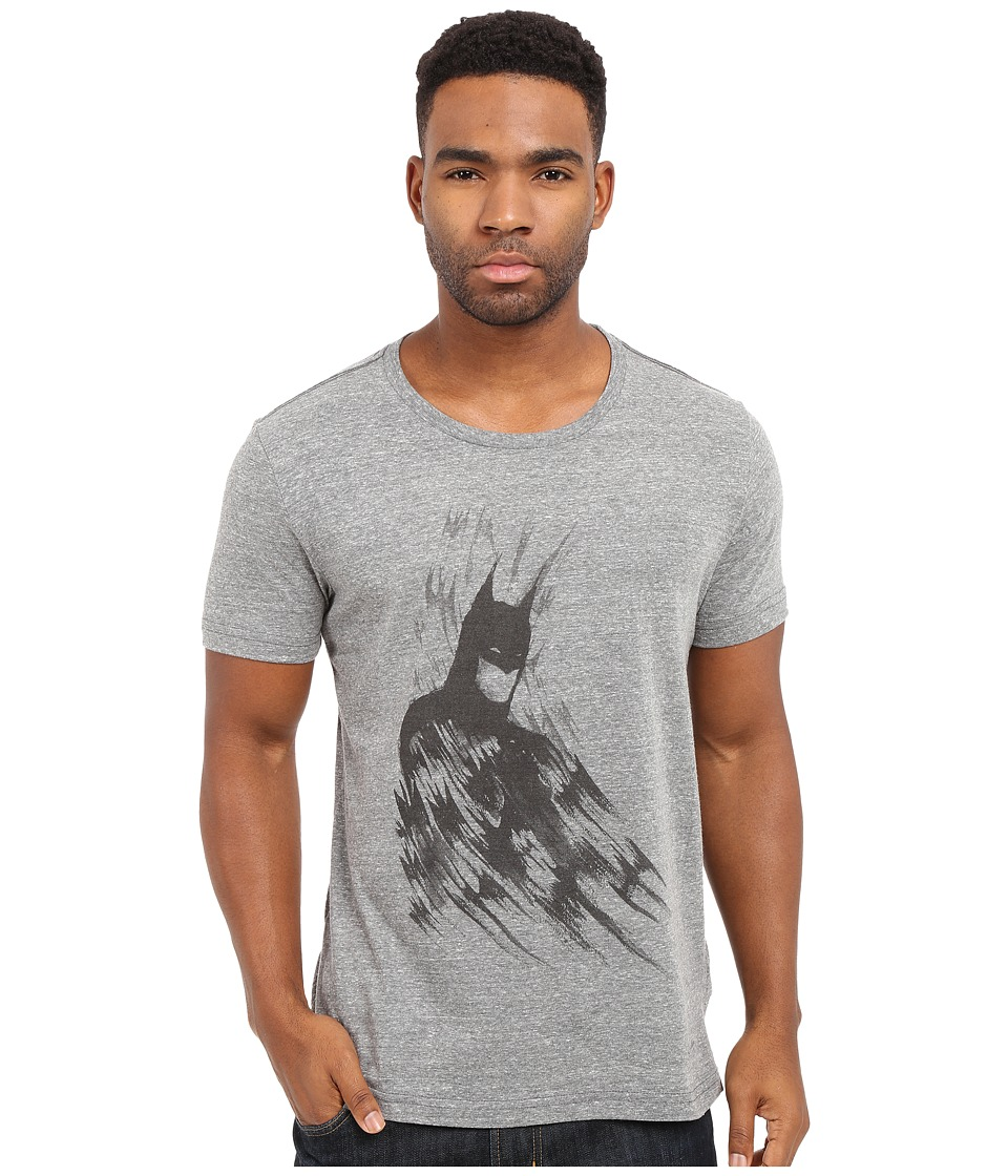 KINETIX - Batman Brush Tee (Heather Grey) Men's T Shirt